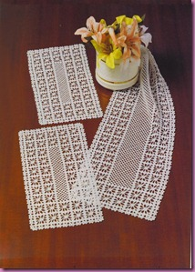 toalha rendada