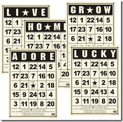 Bingo Card Collection