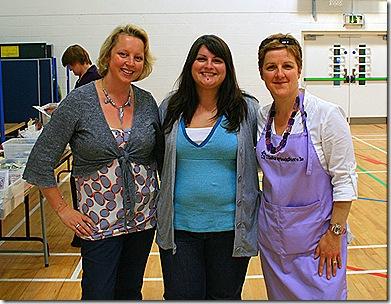 Celine with Elaine and Annamarie
