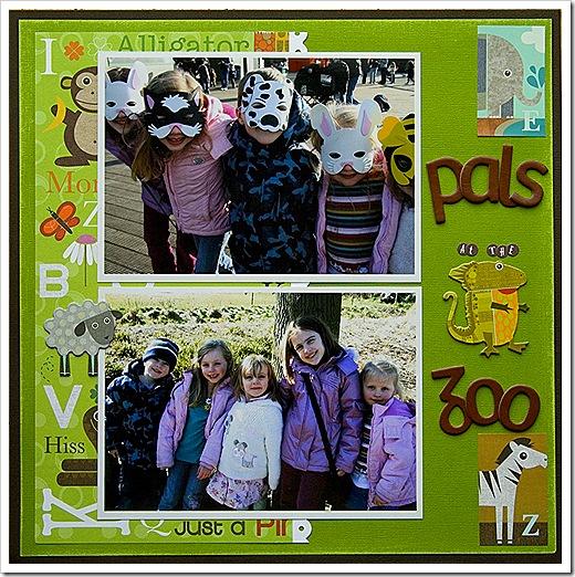 Pals at the Zoo