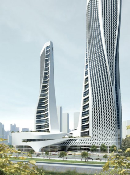 Skyscraper in China