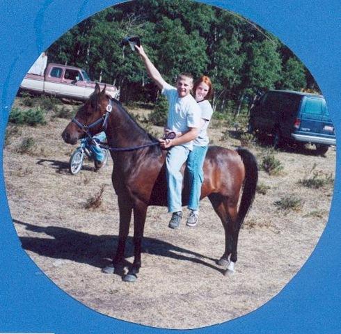 same horse