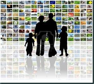 familia ve tele