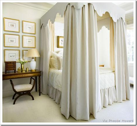pheobe howard yellow bedroom