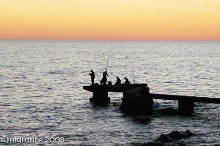 pesca en el plata