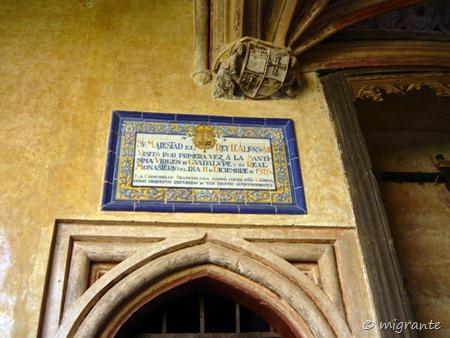 testimonio - real monasterio de santa maria de guadalupe