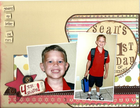 1st day 4th grade