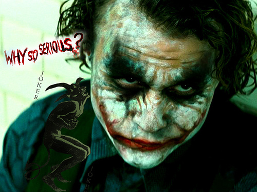 The Picture that Inspired my Joker
