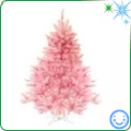 pink Christmas tree