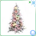 Frosted and Flocked Christmas Tree