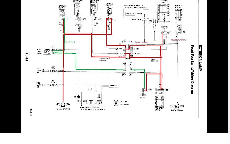 zx starter wiring diagram zx image wiring nissan 300zx lights wiring diagram nissan auto wiring diagram on 300zx starter wiring diagram