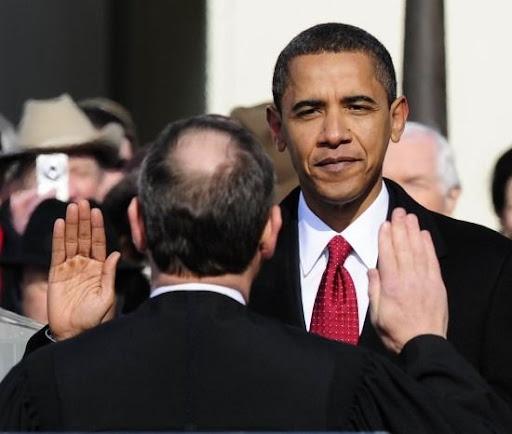 奥巴马宣誓就职