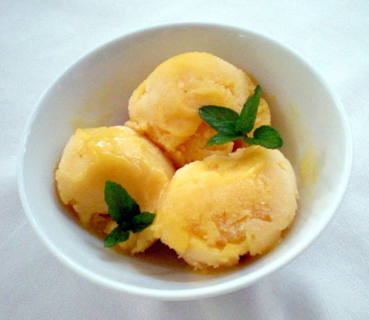 Mango Mint Sorbet Recept | Yummly