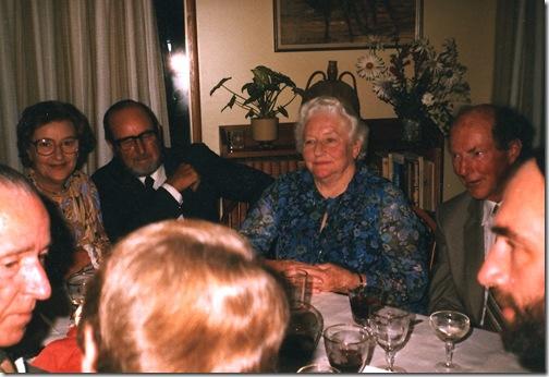 Belshaw 40th wedding Jan 1984