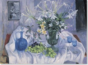 Margaret Olley, Eucharist Lillies, 1983