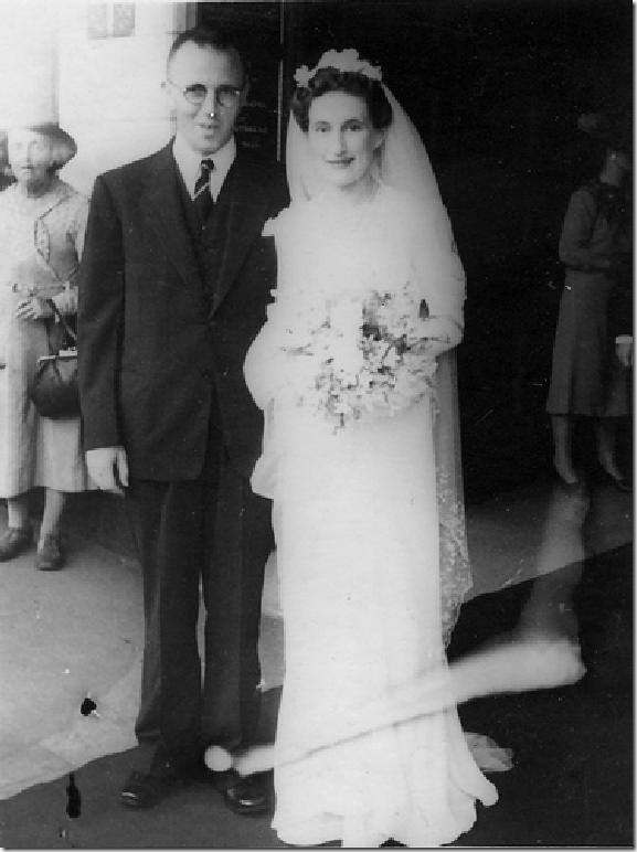 Belshaw wedding 1944