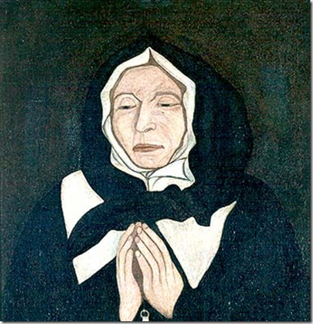 Pierre LeBer The true portrait of Marguerite Bourgeoys