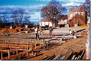 Building the new Armidale Demonstration School  1960