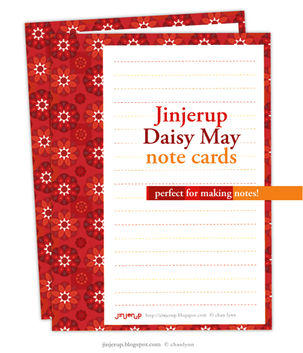 Cute Note Cards By Jinjerup Click The Image To Get These Free