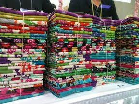 1 International Quilt Market: Sample Spree