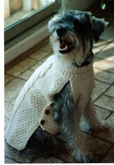 Eddie's Aran Sweater