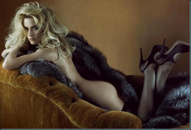 Kate Winslet photographed by Steven Meisel for Vanity Fair, Dec 2008