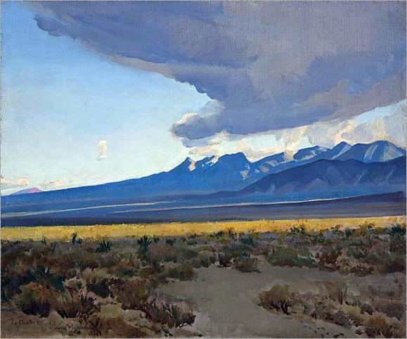 Desert Landscape, Nevada