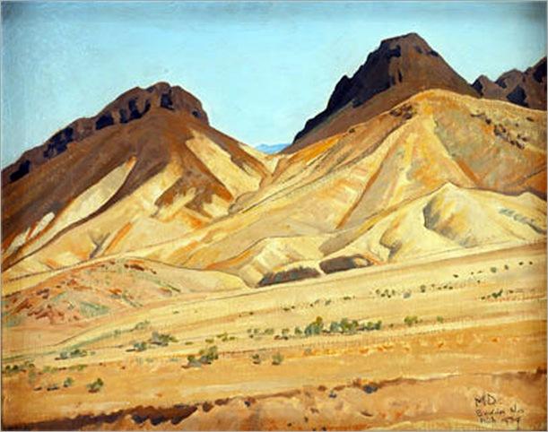 Calico Hills, Boulder Nevada (1933)
