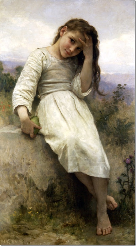 William Bouguereau - Little Thief _1900_
