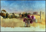 Mi terraza de Roma, 1966(1)