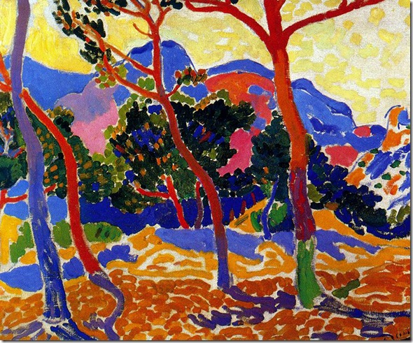 The Trees (Les Arbres) 1906