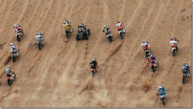 Corredores - Dakar 2011
