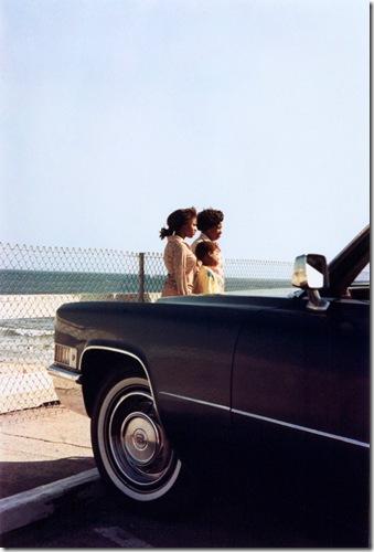 William Eggleston  -black-family-by-the-sea