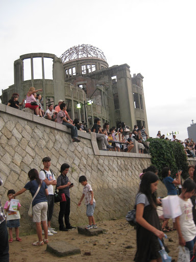 The only building in Hiroshima to survive the atomic bomb.