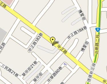 Google Maps 新店市某區地圖