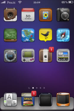 Zosha iPod Touch Theme
