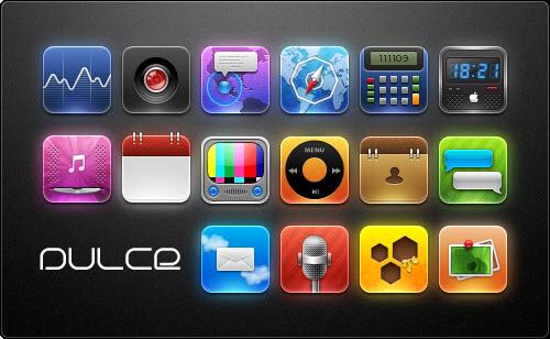 Dulce Free iPhone Theme