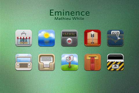 Eminence iPhone Theme