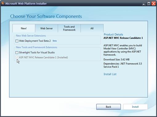 MicrosoftWebPlatformInstaller