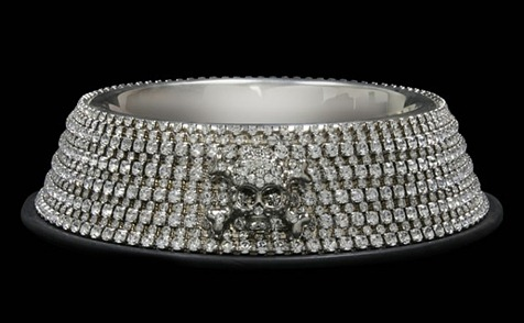 Swarovski-studded-dog-bowl