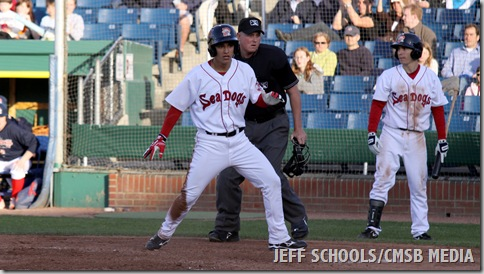 SEA DOGS VS ROCK CATS 104A