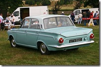 Ford Cortina Super Deluxe 1966 rear