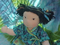 "Custom Order: May Lee -16"" Button Jointed Asian Inspired Baby"