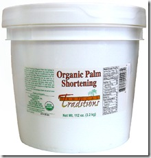 Palm Shortening 112 oz
