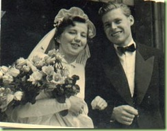Mom &Dad Wedding 1