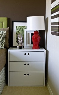 Imagine Design Makeover Monday Mismatched Bedroom Side Tables