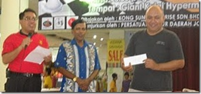 Kamaluddin Yusof, Winner of Giant Kulai Hypermarket Chess Open 2010