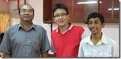 Zakaria, Liew Ken Yew, Jayamurthey