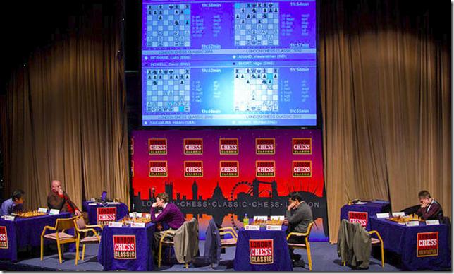 3rd Round, London Chess Classic 2010