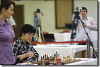 Kateryna Lahno and Hou Yifan